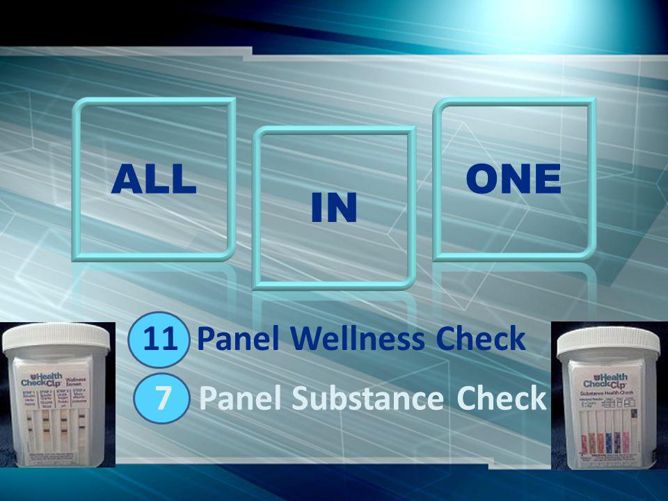 11 Panel Wellness Check 7 Panel Substance Check