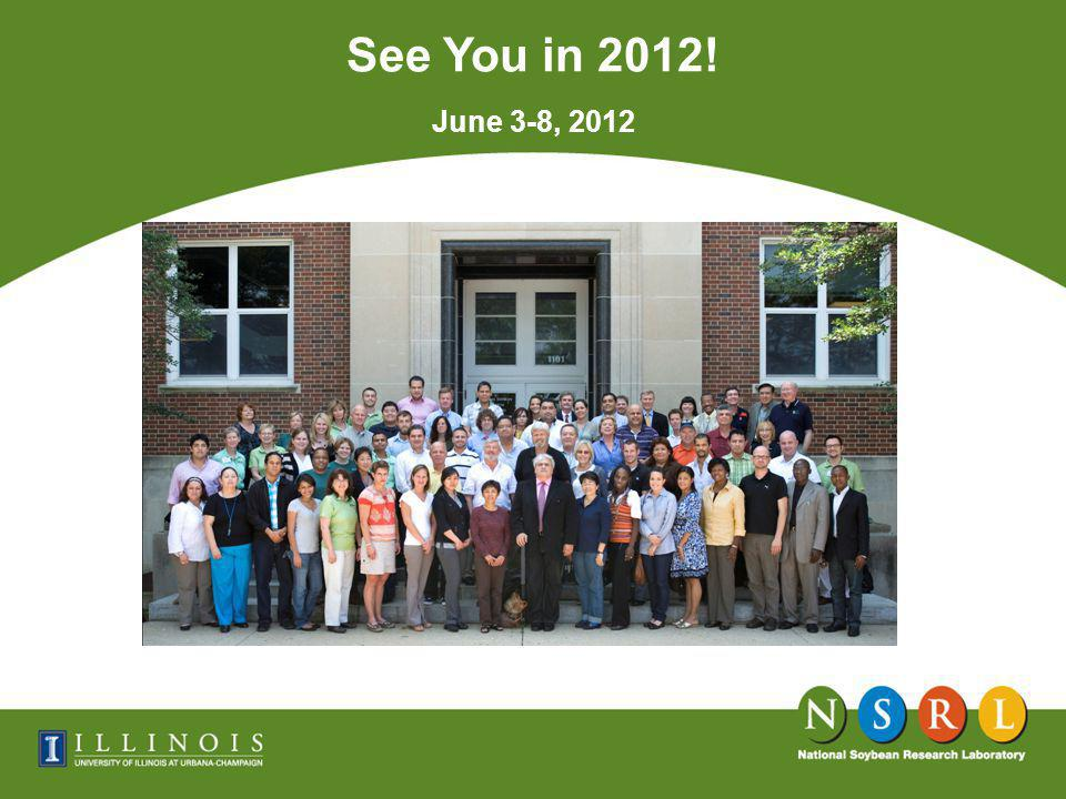See You in 2012! Oil 18% June 3-8, 2012
