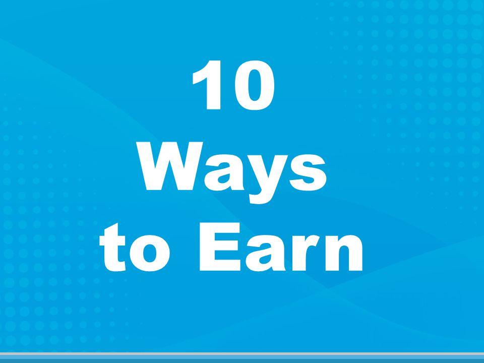 10 Ways to Earn