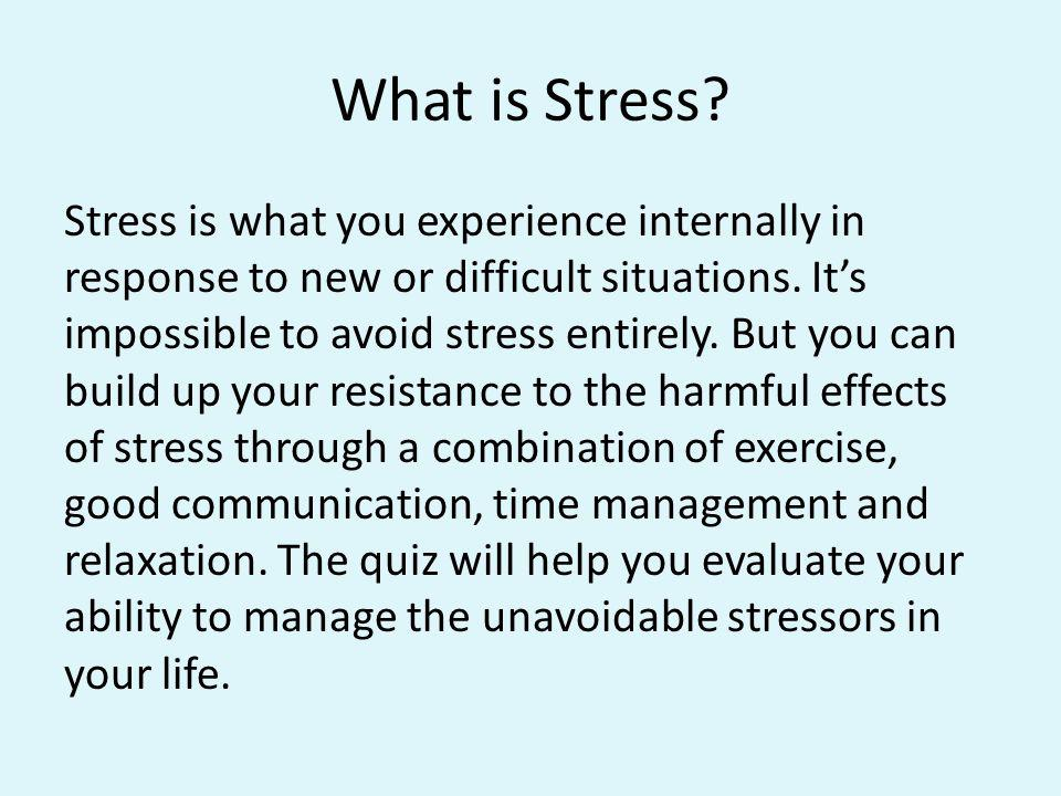 Mental and Emotional Skills, Part 3 We can allow the pressure of life to force our lives into molds and patterns that are instructive or destructive.