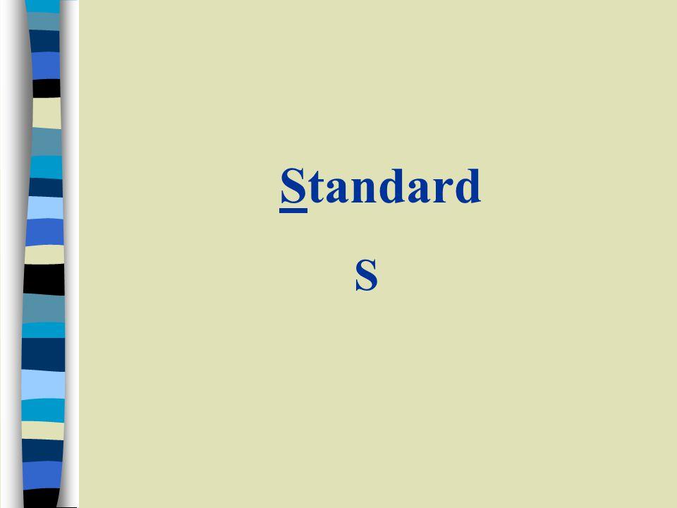 Standard S