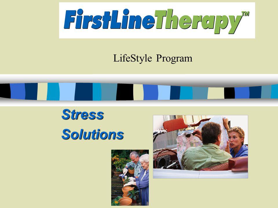 LifeStyle Program StressSolutions