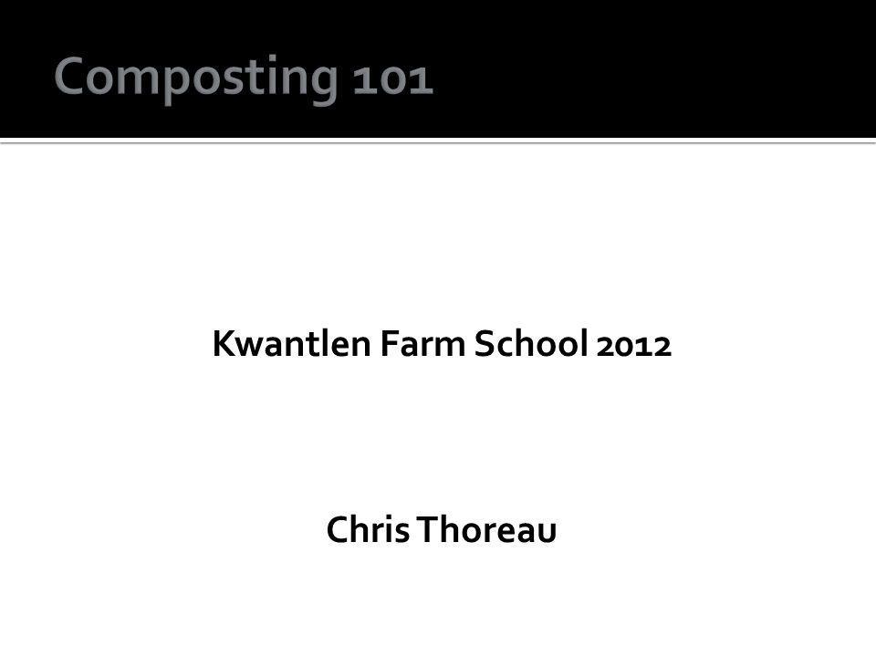 Kwantlen Farm School 2012 Chris Thoreau
