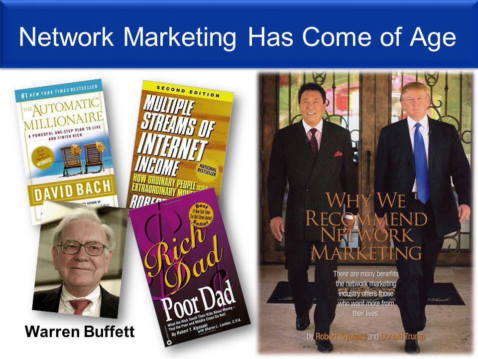 Network Marketing Has Come of Age Warren Buffett