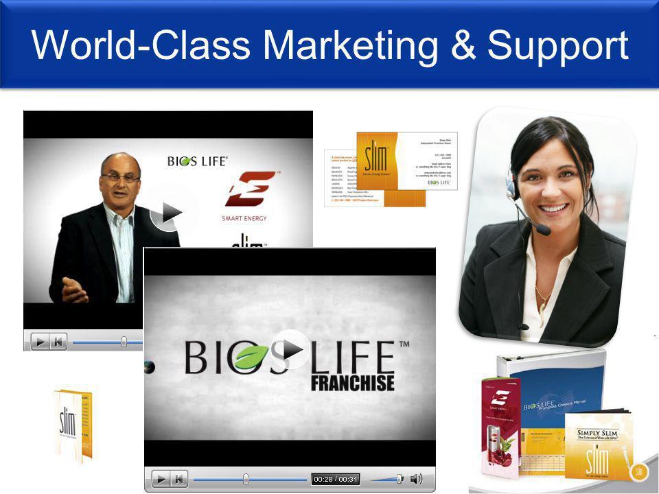 World-Class Marketing & Support