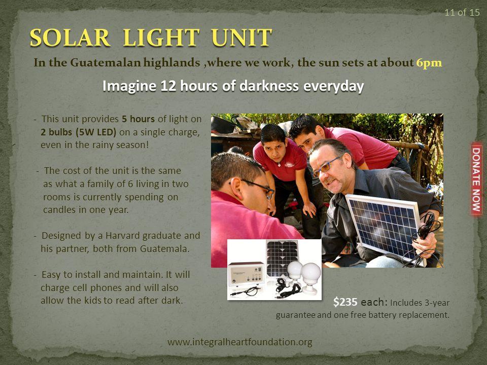 SPONSORSHIP www.integralheartfoundation.org 10 of 15 << Sponsor one child for as little as $35.00 per month.