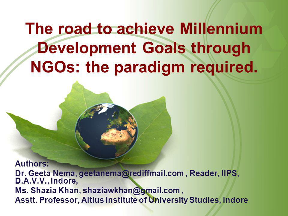 The world and its issues in 2000 Population of 6 billion, Ozone layer depletion, Rapid climate change, Malnutrition, AIDS, Fast paced globalization, Peace, security and disarmament, Human rights, Development and poverty eradication…… the richest 20% of people possess 86% of gross national product, in which one country accounts for 23% of worldwide energy consumption and the USA and Europe alone account for 65% of annual wealth creation.