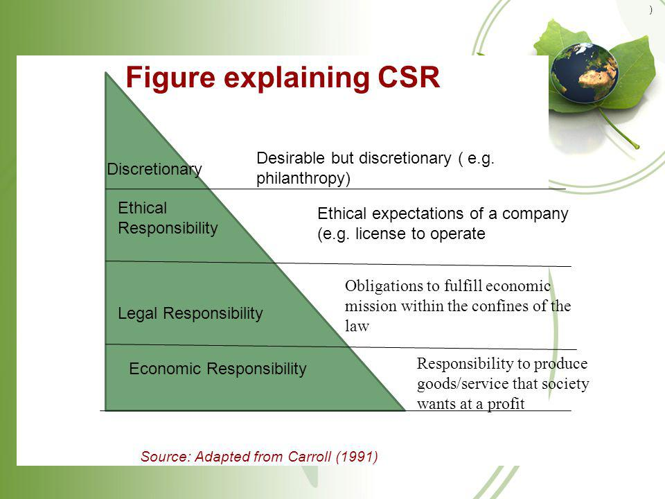 Role of international agencies in CSR the Global Fund for Women -a publicly supported foundation, making grant to women-led organizations supporting womens health, education, leadership, economic security, violence against women, etc.