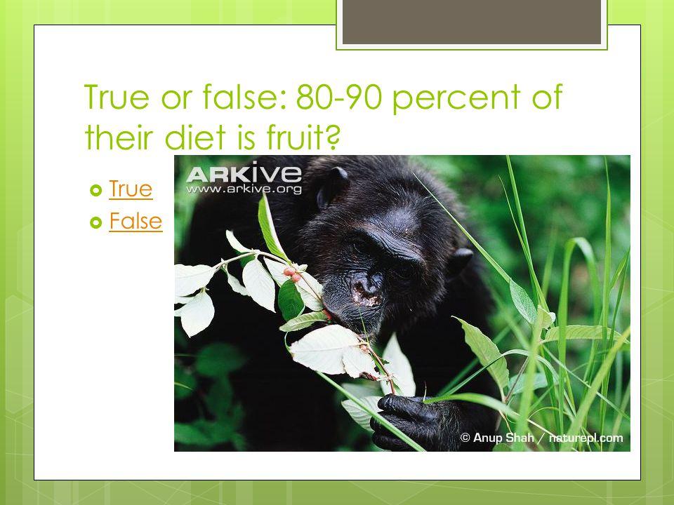 True or false: their arm span is 8 feet long True False