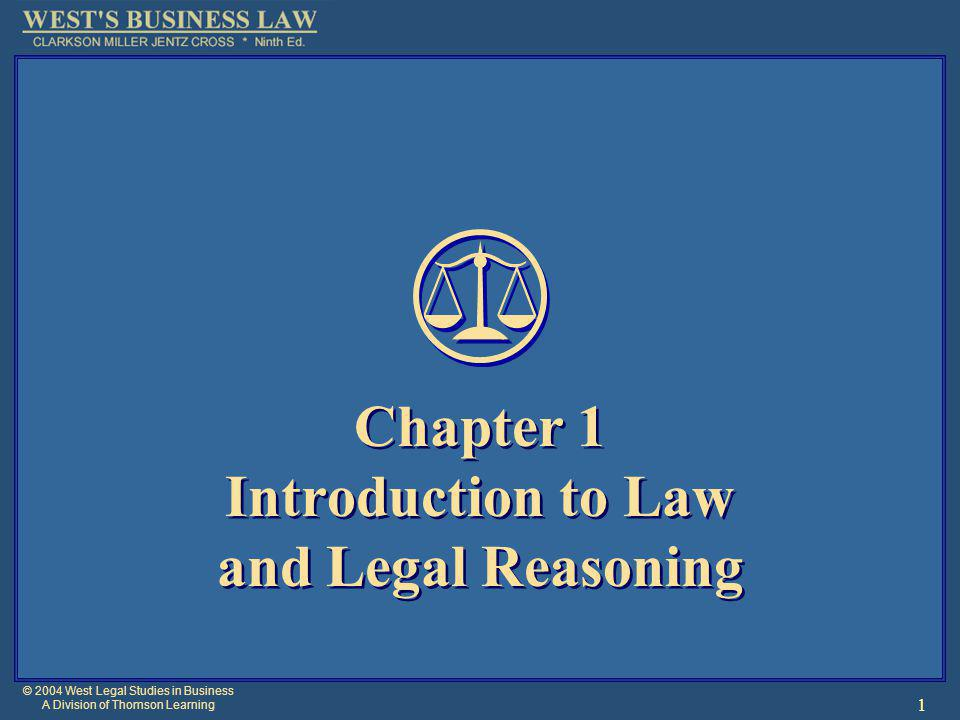 © 2004 West Legal Studies in Business A Division of Thomson Learning 12 Courts of Law Also called kings courts where judges were appointed by the king.