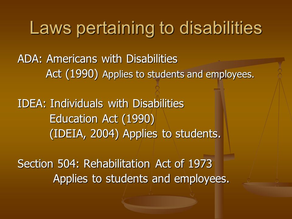 disability act research paper Obesity and the ada of 1990 the americans with disabilities act of 1990 (ada) bans discrimination based on disability it provides individuals with disabilities civil rights protections like those provided to individuals on the basis of race, sex, national origin and religion (mathias, 2003.