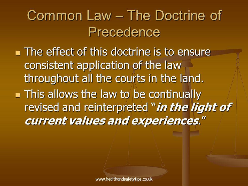 case law and the doctrine of precedent essay The doctrine of precedent  then the judge in the present case should follow the rule of law essays related to doctrine of judicial precedent & its.