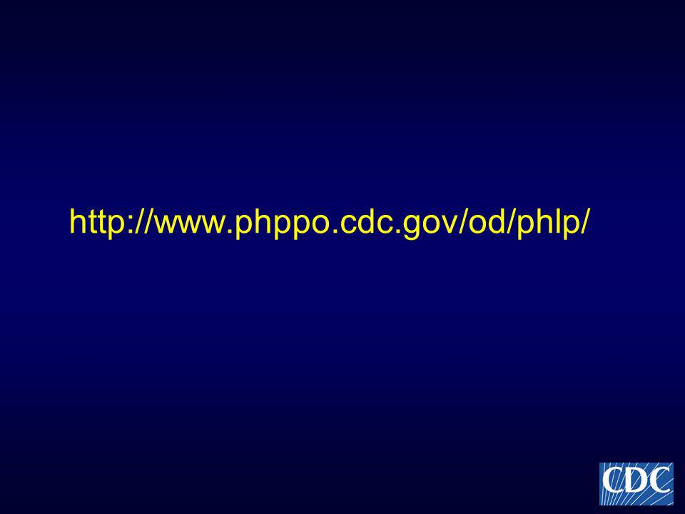 http://www.phppo.cdc.gov/od/phlp/