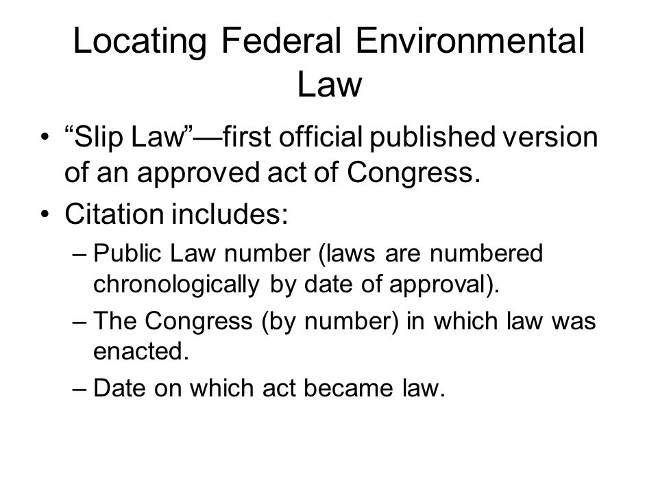 The Federal Register Publishes literal text of administrative documents.