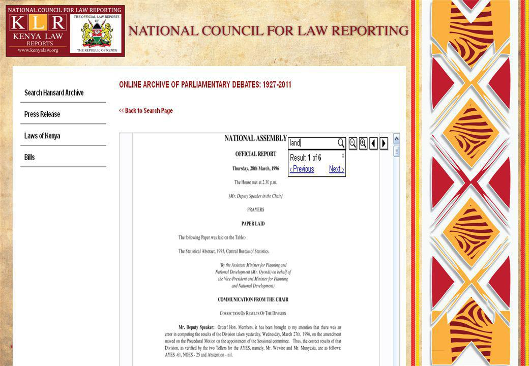 Kenya Law Review Journal