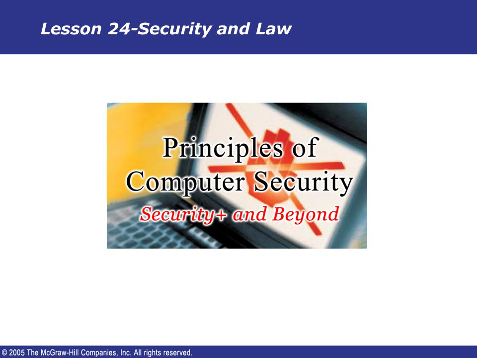 Background Computer security is similar to any other subject in the society.