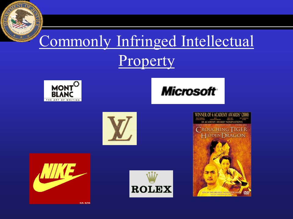 Commonly Infringed Intellectual Property