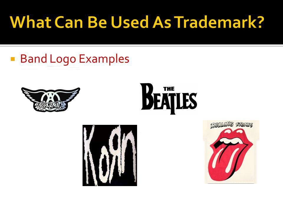 Band Logo Examples