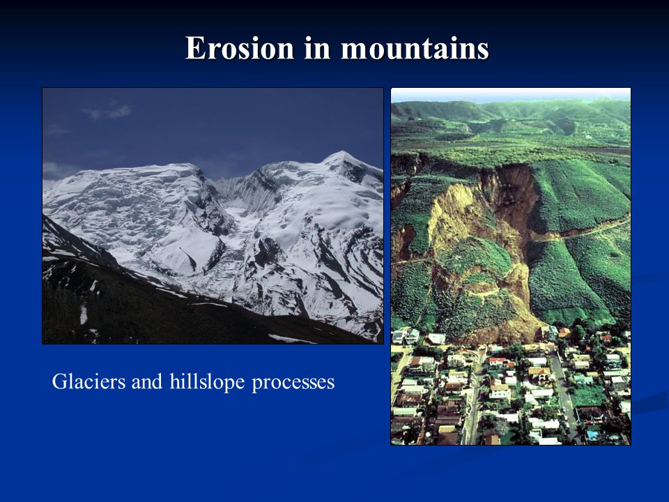 6.Under-capacity model: cover effect (sediment needs to be moved for erosion to occur).