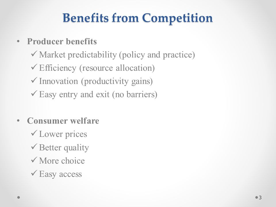 What is Competitiveness.