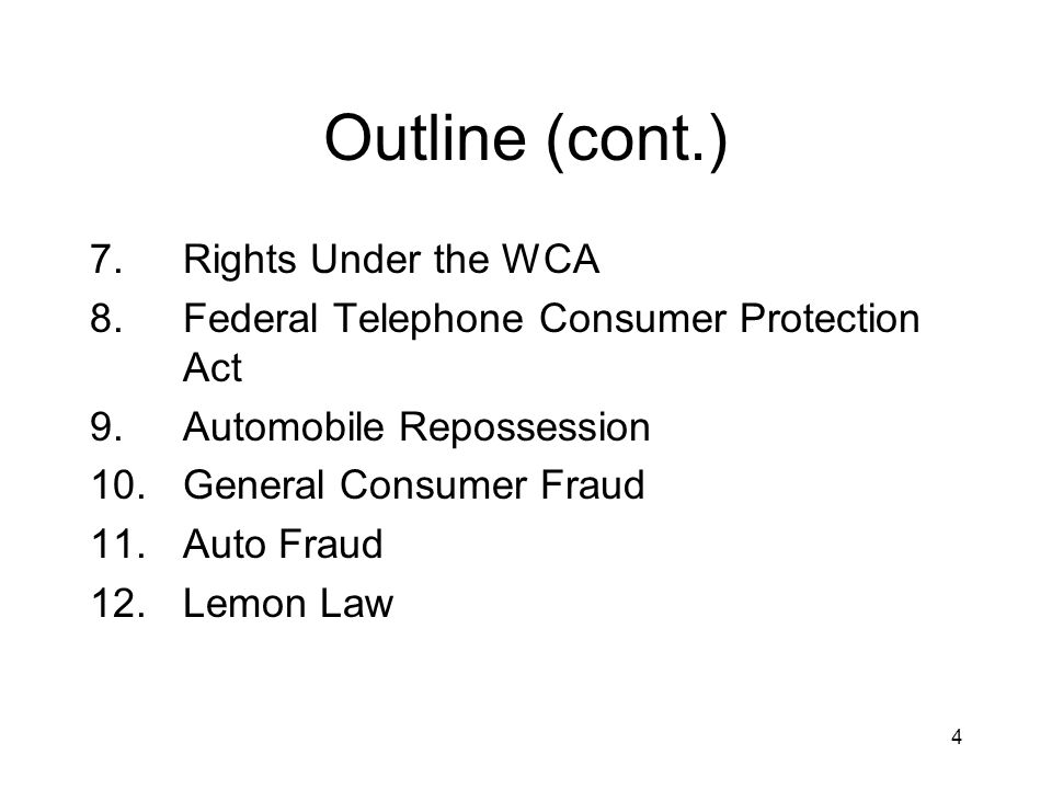 15 Prohibited Debt Collection Practices (cont.) Use obscene or threatening language; Attempt to enforce a right with reason to know it does not exist; (esp.