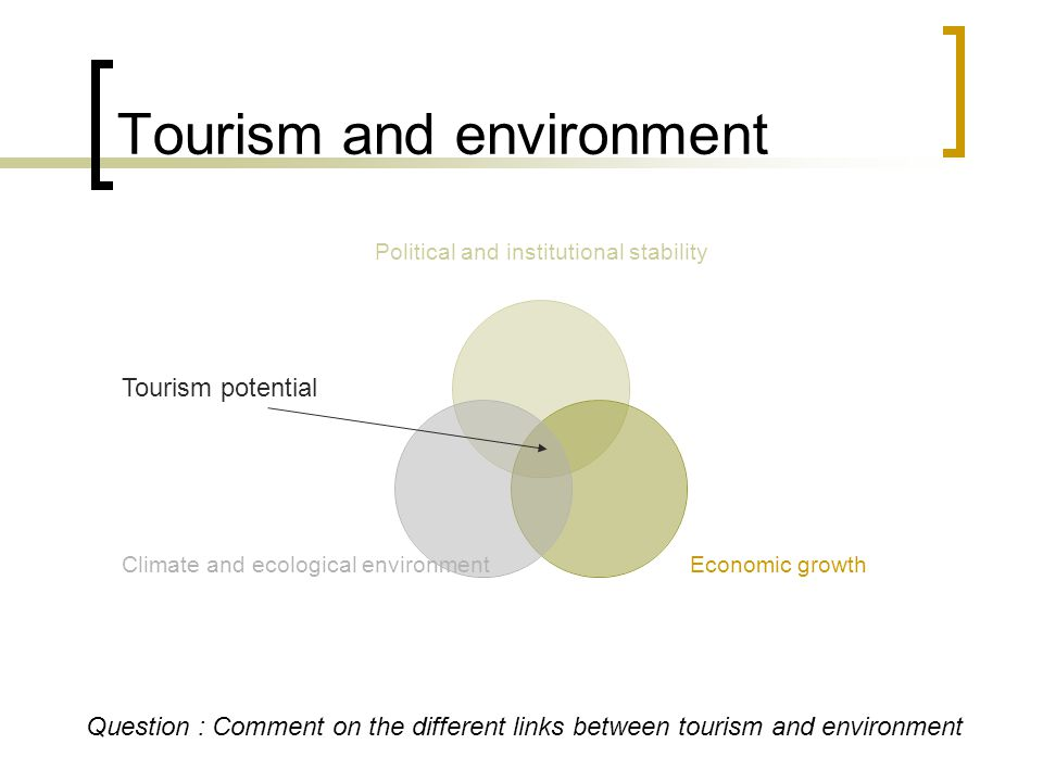 Structural conditions Tourism depends on economic development and open, free societies These conditions are very localized but diffuse with globalization.