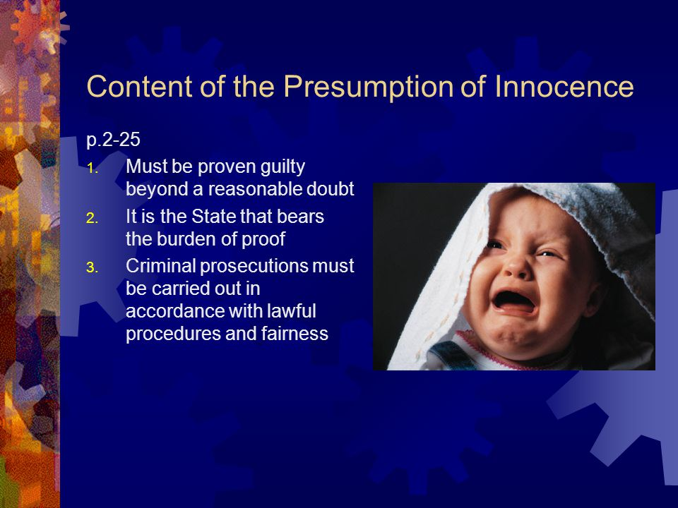 Dickson CJC characterizes presumptions as: Evidentiary burden on the accused to raise sufficient evidence to bring into question the presumed fact Leg