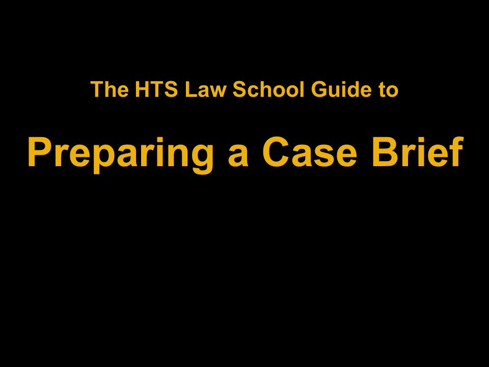 For a Case Brief template, click on the button below: Case Brief Template Case Brief Template