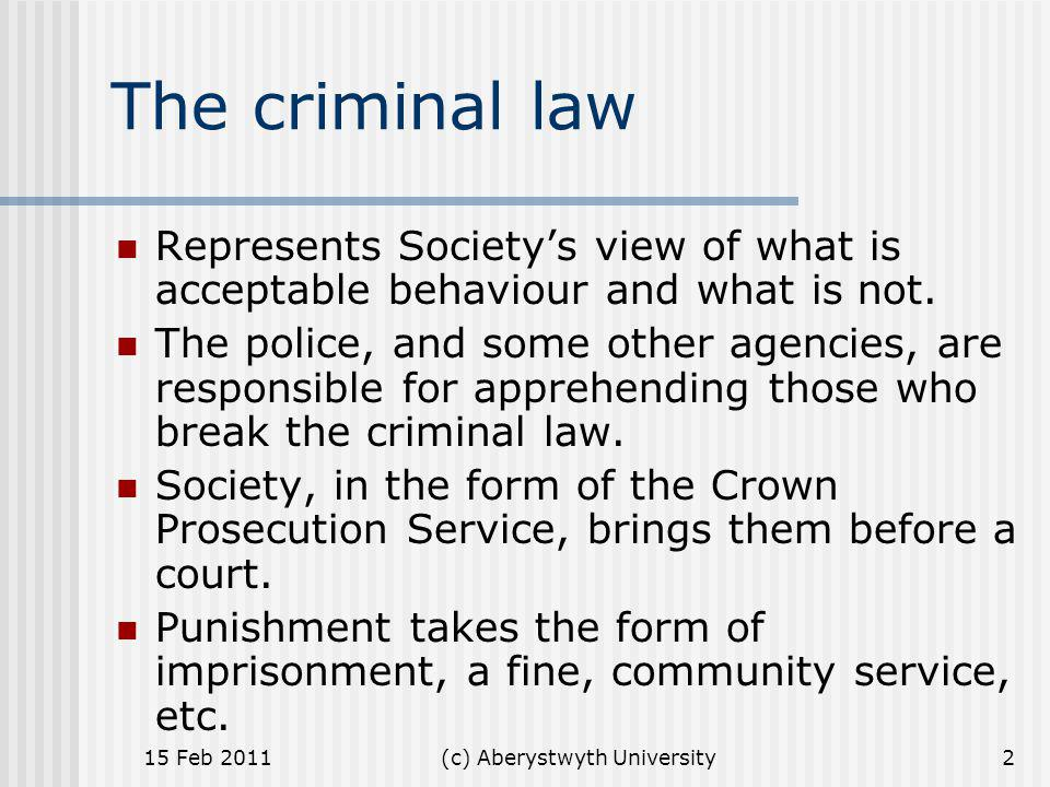 (c) Aberystwyth University Secondary legislation An act of parliament often gives the government power to introduce regulations (or statutory instruments) that are laid before Parliament but are debated only if a member specifically calls for a debate.