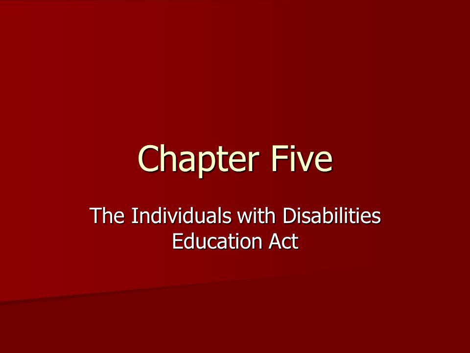 The Development of the IDEA The development of the IDEA can be found in the advocacy of various coalitions for children with disabilities, litigation in the federal courts, and federal and state legislation during the 1950s and 1960s.