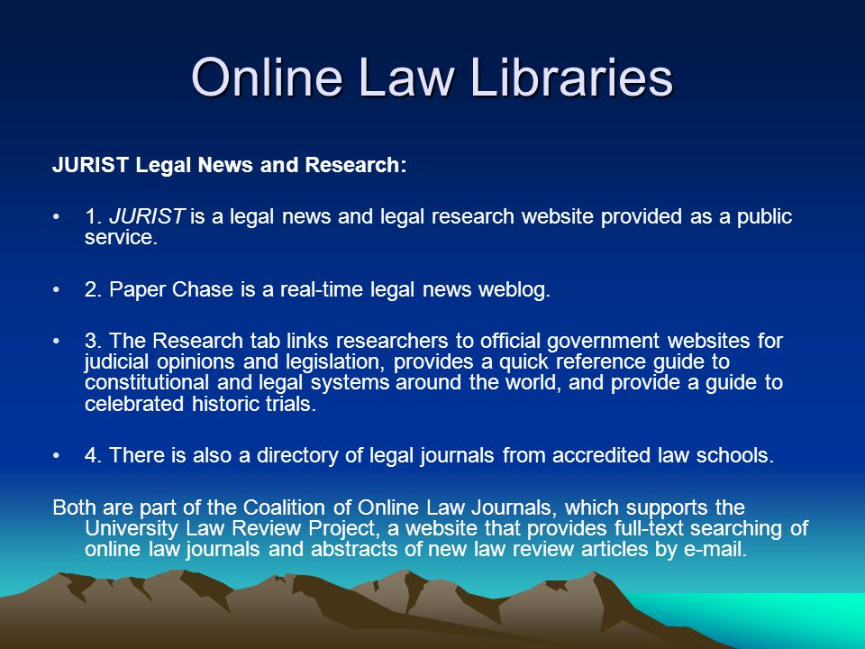 A Strategy for Legal Research on the Internet Research on the Internet demands an awareness of what you need and knowledge of where to look for it.