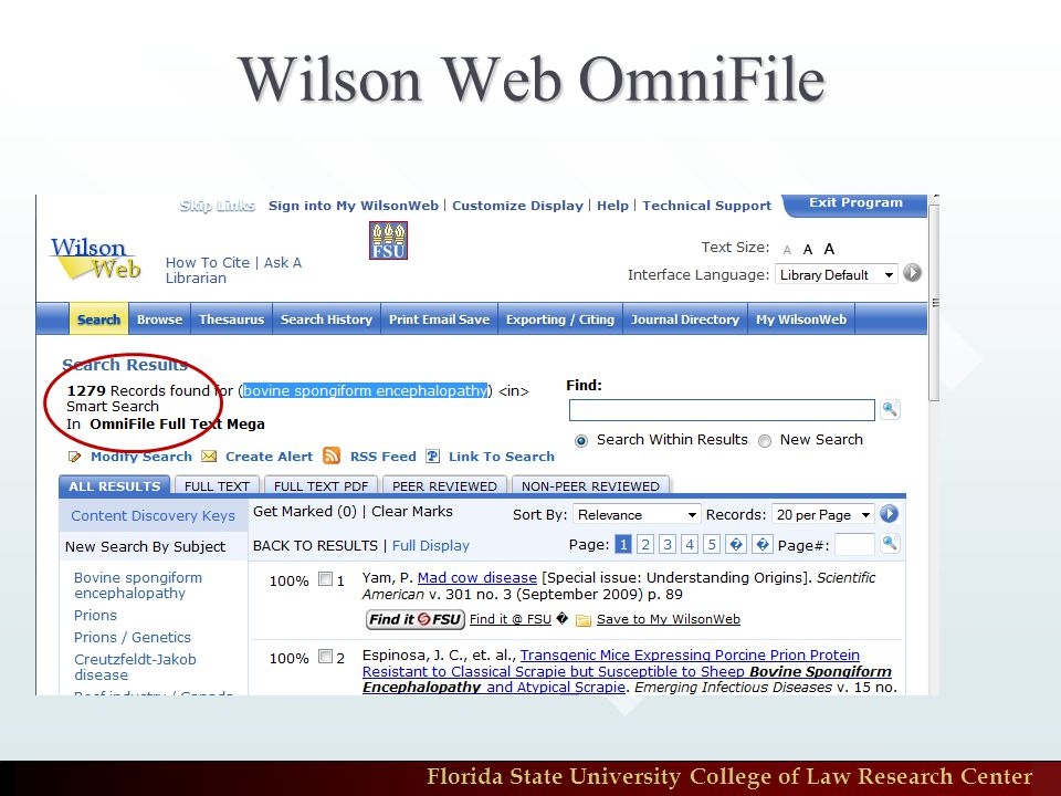 Wilson Web OmniFile