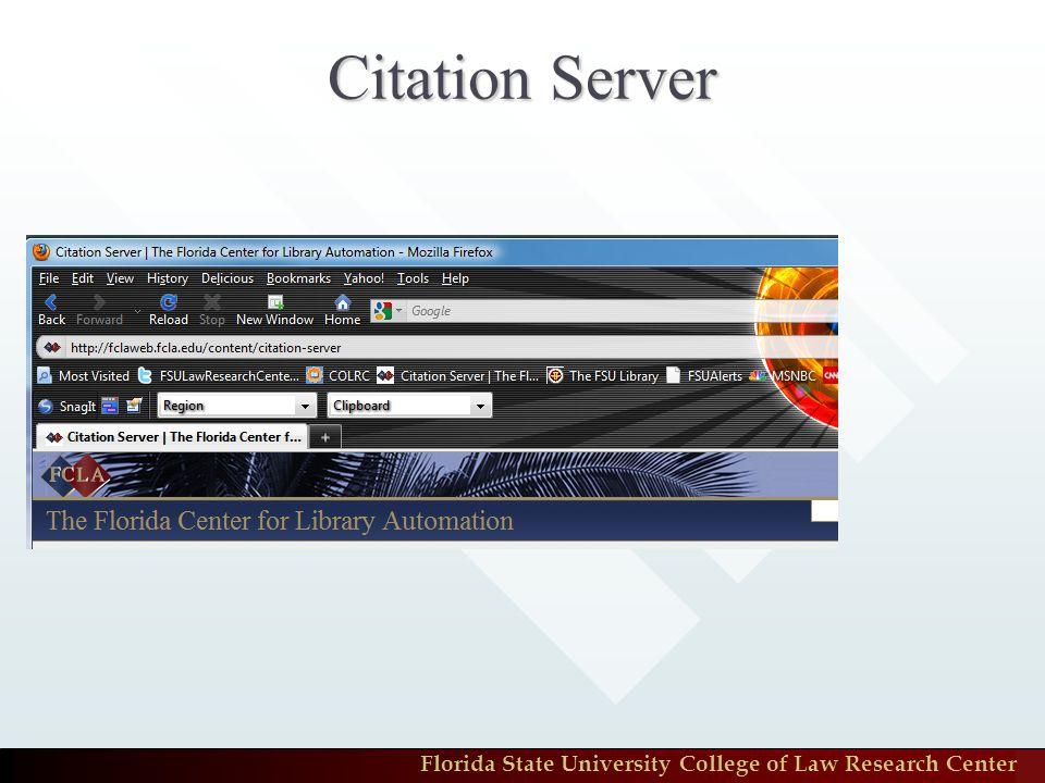Citation Server