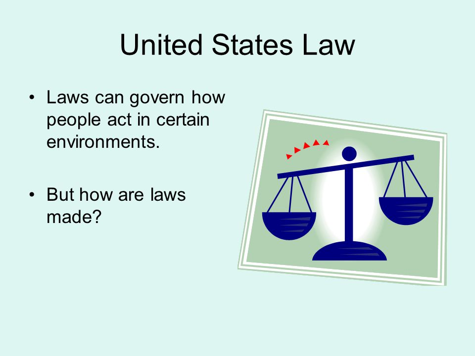 Constitutional Law Any law written in the U.S.Constitution –Including the amendments.