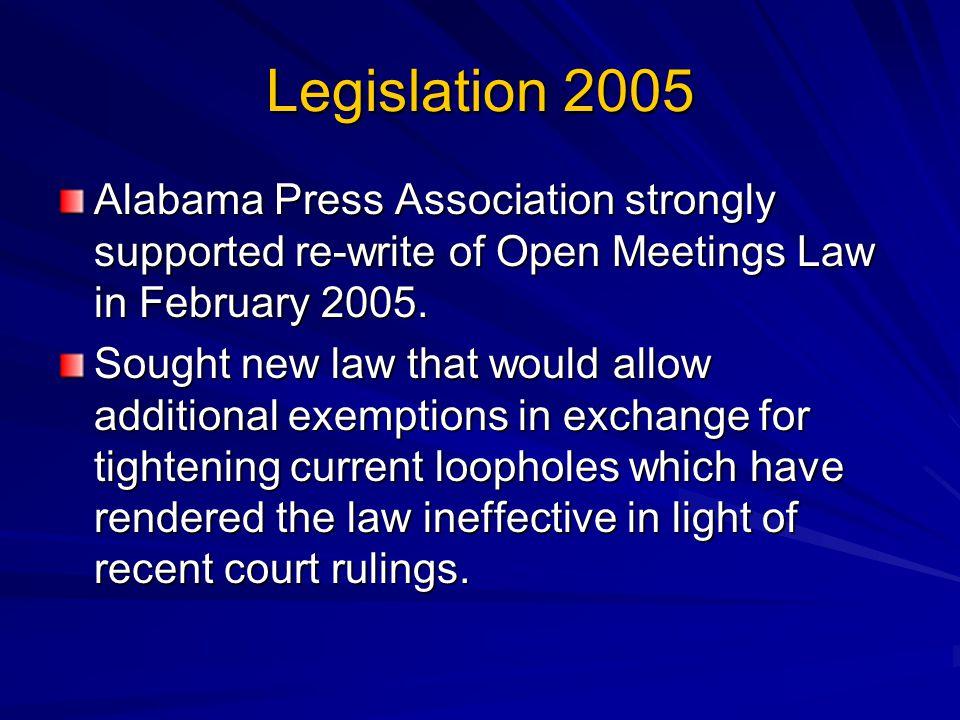 OMA 101 Responsibilities under Alabamas Open Meetings ActOMA 101 Responsibilities under Alabamas Open Meetings Act