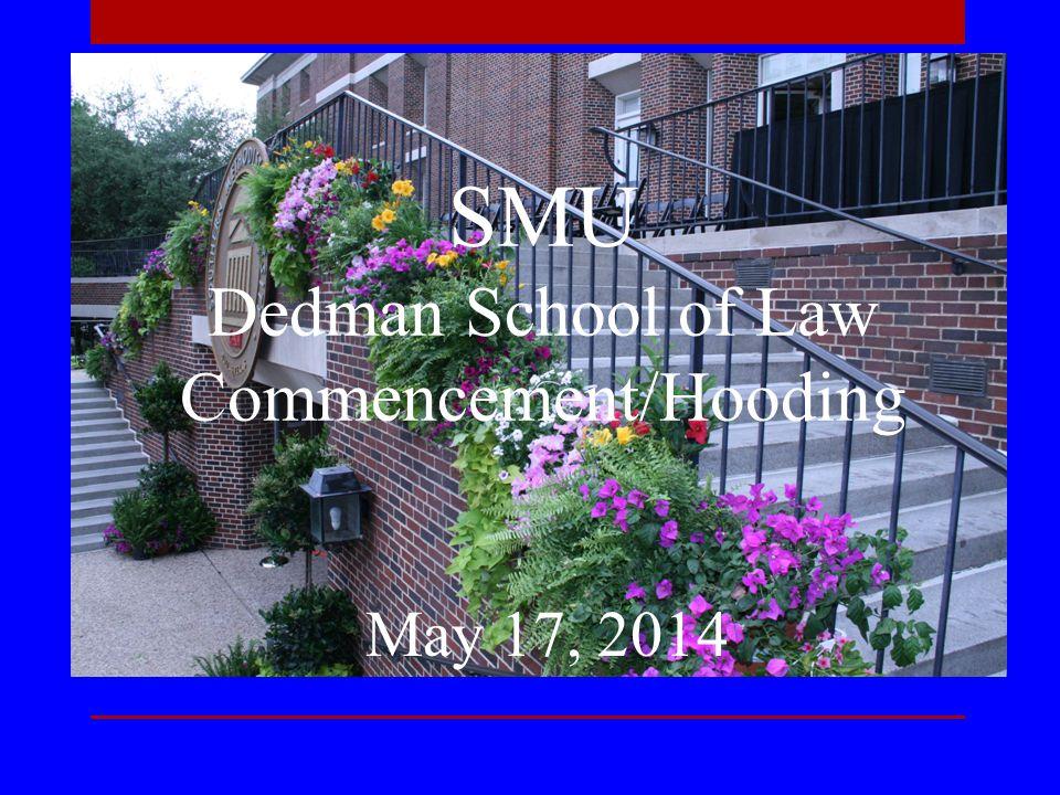 Graduation Ballots Explanation of Process Don M.Smart Teaching Award (J.D.
