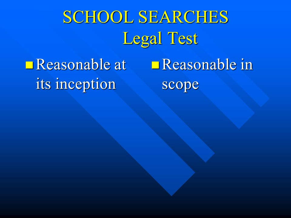 DONT MISS THE ANSWERS TO THESE AND MANY MORE OF YOUR SCHOOL LAW QUESTIONS RIGHT AFTER THIS BREAK………