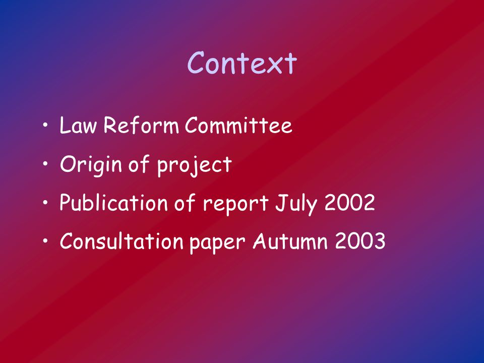 Aspects of Charity Law Definition Registration and regulation Fundraising Legal structures Responsibilities of trustees Investment of charitable funds Rates