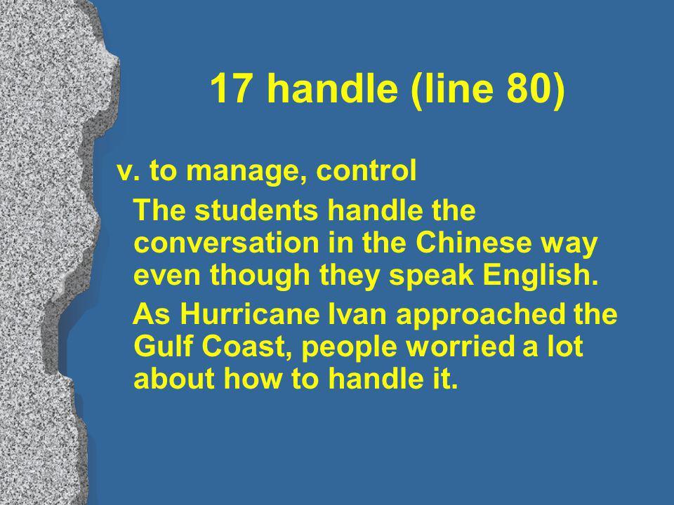 17 handle (line 80) v.