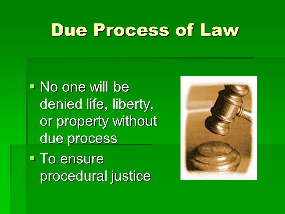 What types of law exist?