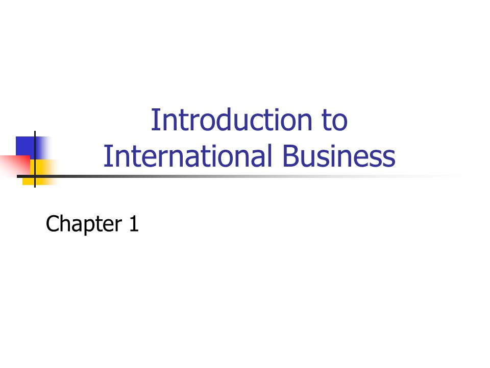 1999 West Educational Publishing12 Forms of International Business Trade International licensing of technology and intellectual property (trademarks, patents and copyrights) Foreign direct investment