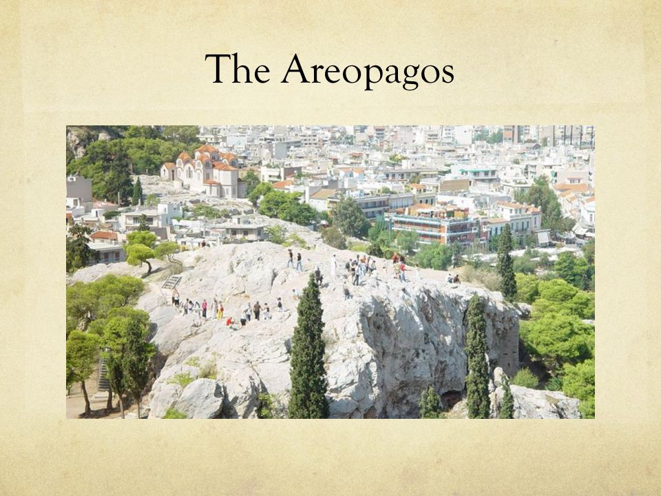 The Areopagos