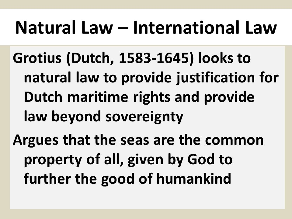 What I have called the internal morality of law is … a procedural version of natural law … concerned, not with the substantive aims of legal rules, but with the ways in which a system of rules for governing human conduct must be constructed and administered if it is to be efficacious and at the same time remain what it purports to be.