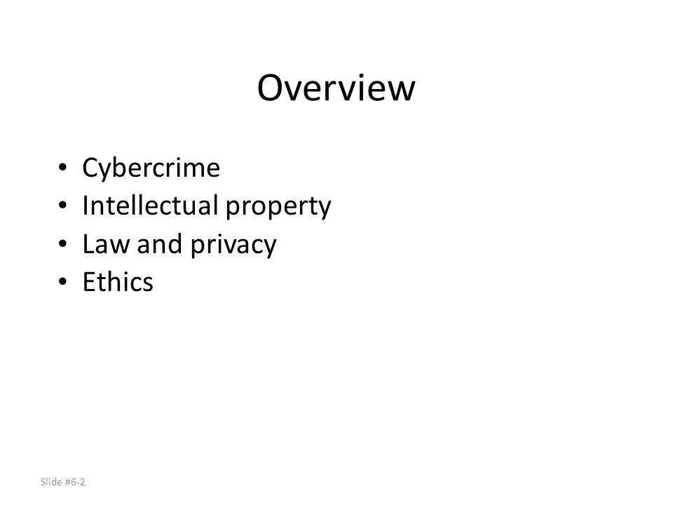Slide #6-3 Reading Material Chapter 18 of text Secrets of Computer Espionage: Tactics and Countermeasures, Joel McNamara, Chapter 2.