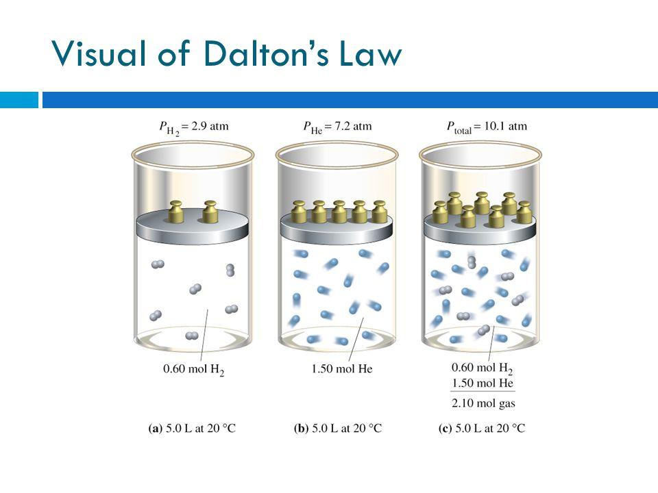 Visual of Daltons Law