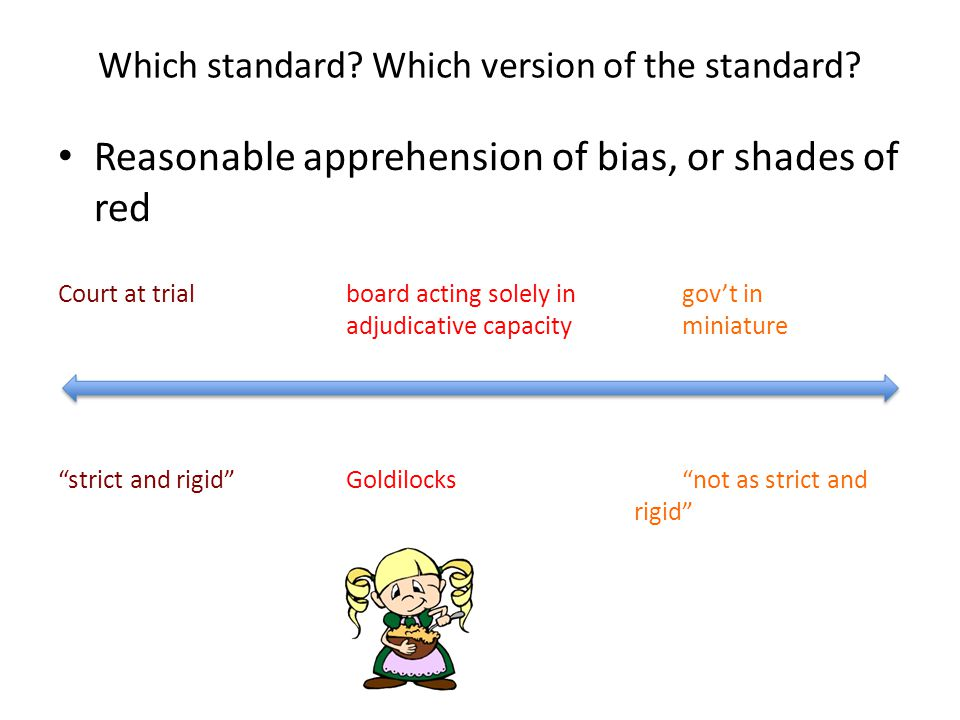 Which standard. Which version of the standard.