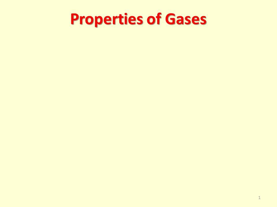 Properties of Gases 1