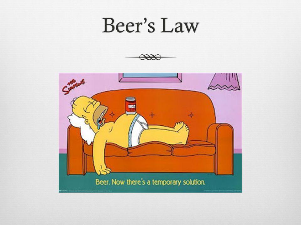 Beers LawBeers Law