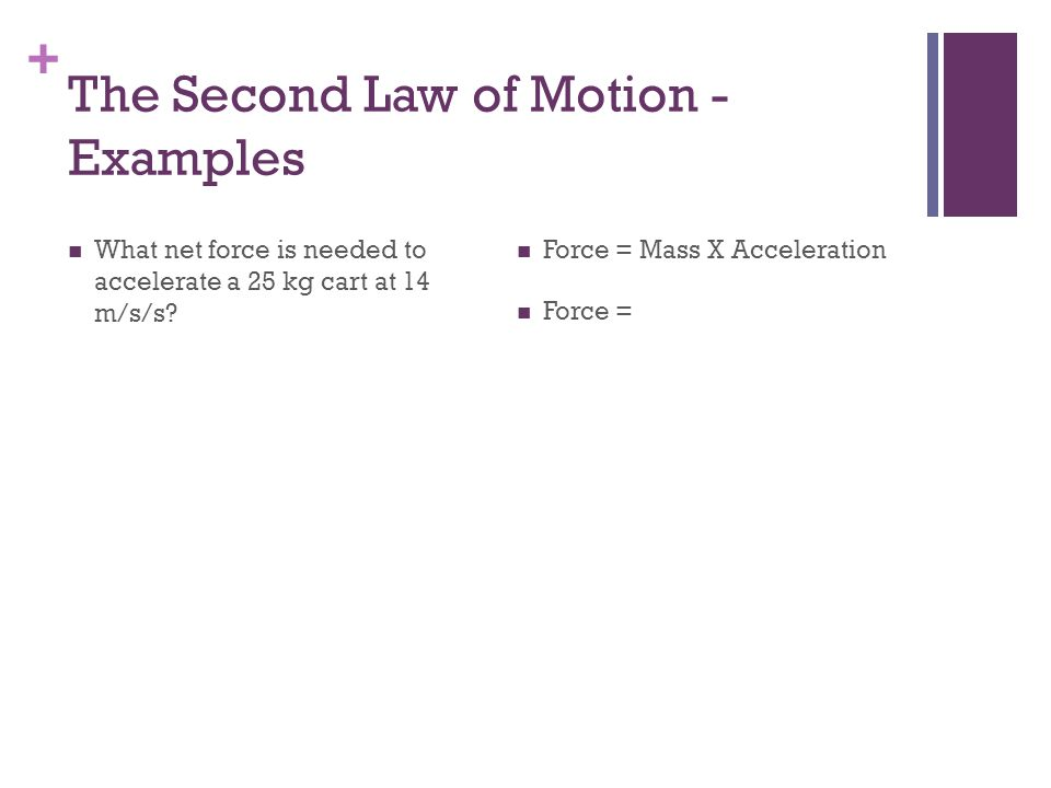 + The Third Law of Motion Newtons third law of motion describes the relationship between two forces States that if one object exerts a force on another object, then the second object exerts a force of equal strength in the opposite direction on the first object For every action, there is an opposite and equal reaction
