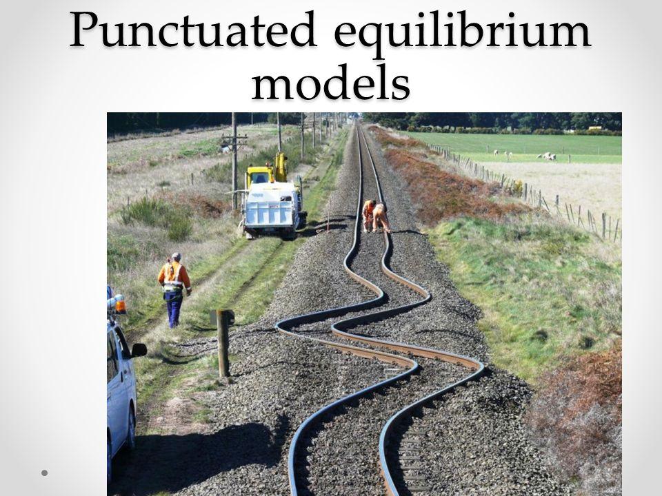 Punctuated equilibrium models